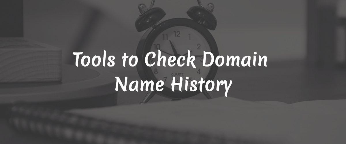 check-domain-name-history